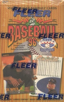 1996 Fleer Baseball 24 Pack Box