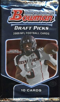 2009 Bowman Draft Picks Football Hobby Pack