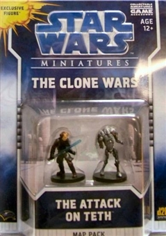 WOTC Star Wars Miniatures Map Pack 1 Attack on Teth Pack