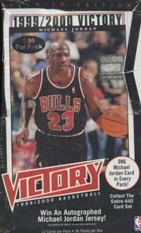 1999/00 Upper Deck Victory Basketball Prepriced Box