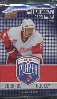 2008/09 Upper Deck Be A Player Signature Hockey Hobby Pack