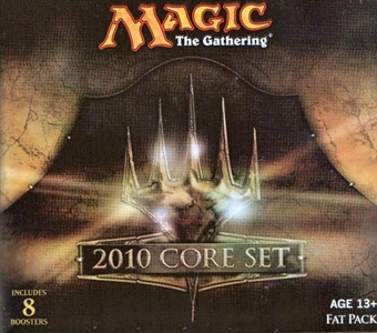 Magic the Gathering 2010 Core Set Fat Pack