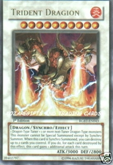 Yu-Gi-Oh Raging Battle Single Trident Dragion Ultimate Rare