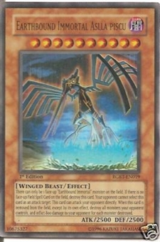 Yu-Gi-Oh Raging Battle Single Earthbound Immortal Aslla Piscu Ultra