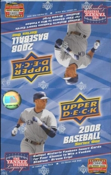 2008 Upper Deck Series 1 Baseball 24-Pack Box