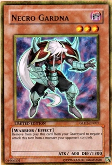 Yu-Gi-Oh Gold Series 2 Single Necro Gardna