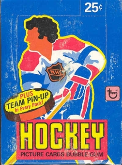1980/81 Topps Hockey Wax Box