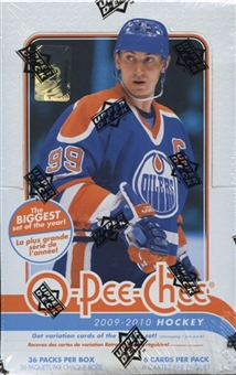 2009/10 Upper Deck O-Pee-Chee Hockey Hobby Box