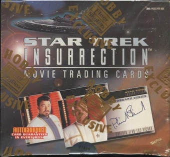 Star Trek Insurrection Hobby Box (1998 Skybox)