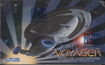 Star Trek: Voyager Season One 24 Pack Box (1995 Skybox)