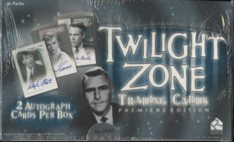 Twilight Zone Premiere Edition Trading Cards Box (Rittenhouse 2009)