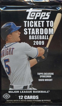 2009 Topps Ticket to Stardom Baseball Hobby Pack