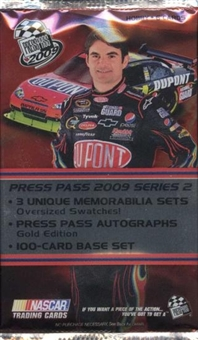 2009 Press Pass Series 2 Racing Hobby Pack