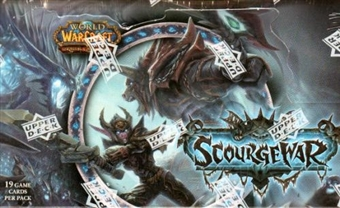 World of Warcraft Scourgewar Booster Box
