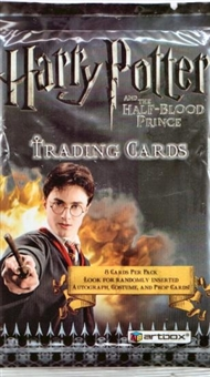 Harry Potter and the Half-Blood Prince Hobby Pack (2009 Artbox)