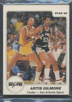 1984/85 Star Co. Basketball Spurs Bagged Set