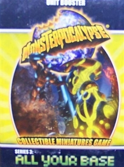 Monsterpocalypse Series 3 All Your Base Unit Booster Pack (Privateer Press)