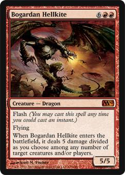 Magic the Gathering 2010 Single Bogardan Hellkite - NEAR MINT (NM)