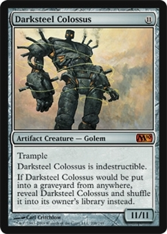 Magic the Gathering 2010 Single Darksteel Colossus Foil