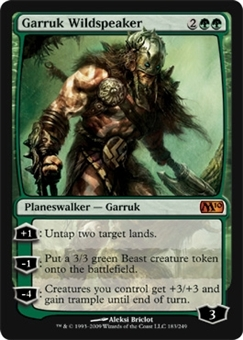 Magic the Gathering 2010 Single Garruk Wildspeaker Foil
