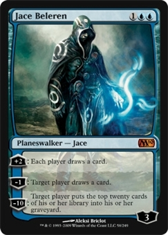 Magic the Gathering 2010 Single Jace Beleren - NEAR MINT (NM)
