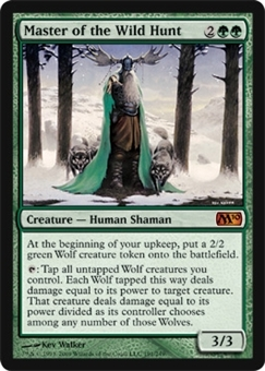 Magic the Gathering 2010 Single Master of the Wild Hunt Foil