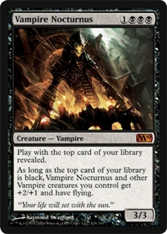 Magic the Gathering 2010 Single Vampire Nocturnus - NEAR MINT (NM)