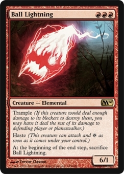 Magic the Gathering 2010 Single Ball Lightning - NEAR MINT (NM)