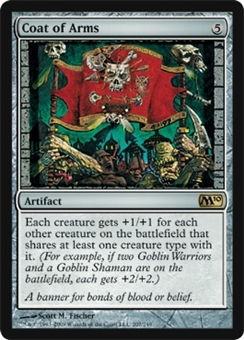 Magic the Gathering 2010 Single Coat of Arms - SLIGHT PLAY (SP)