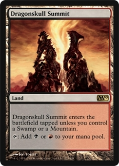 Magic the Gathering 2010 Single Dragonskull Summit Foil