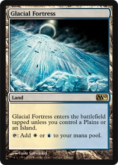 Magic the Gathering 2010 Single Glacial Fortress Foil