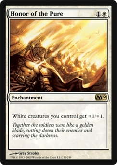 Magic the Gathering 2010 Single Honor of the Pure Foil