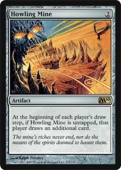 Magic the Gathering 2010 Single Howling Mine - NEAR MINT (NM)