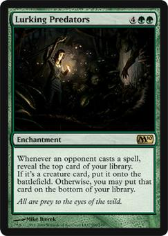 Magic the Gathering 2010 Single Lurking Predators - NEAR MINT (NM)