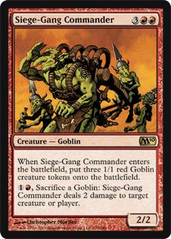 Magic the Gathering 2010 Single Siege-Gang Commander - NEAR MINT (NM)