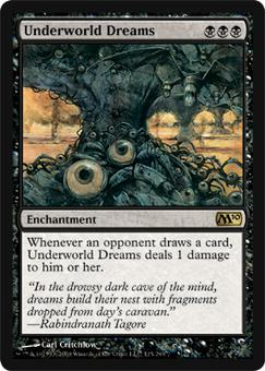 Magic the Gathering 2010 Single Underworld Dreams - NEAR MINT (NM)