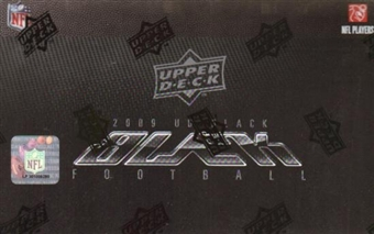 2009 Upper Deck Black Football Hobby Box