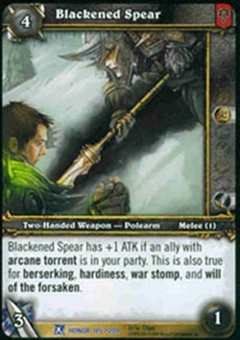 WoW Fields of Honor Single Blackened Spear