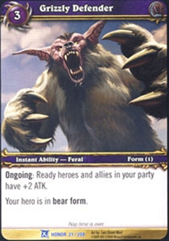 WoW Fields of Honor Single Grizzly Defender x 4