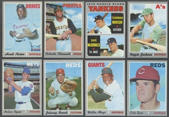 1970 Topps Baseball Complete Set (EX-MT / NM)