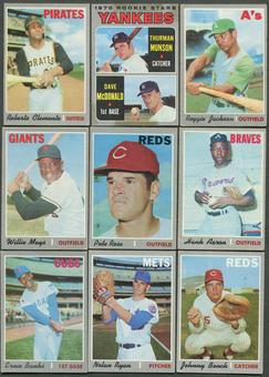 1970 Topps Baseball Complete Set (GOOD)