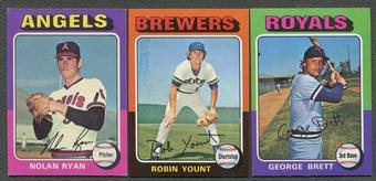 1975 Topps Mini Baseball Complete Set (EX-MT)