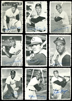 1969 Topps Deckle Edge Baseball Complete Set