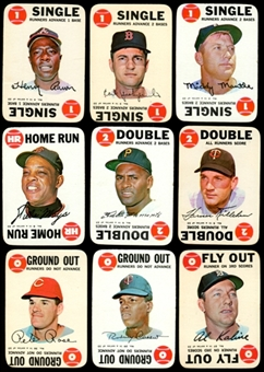 1968 Topps Game Baseball Complete Set