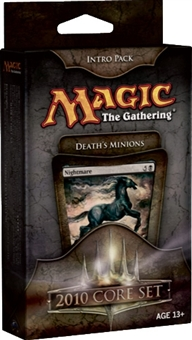 Magic the Gathering 2010 Core Set Intro Pack Death's Minions