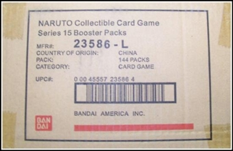 Naruto Foretold Prophecy Booster 6-Box Case (Bandai)