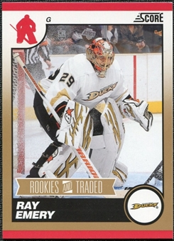 2010/11 Panini Score Gold #579 Ray Emery