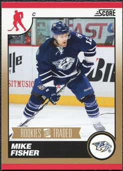 2010/11 Panini Score Gold #582 Mike Fisher