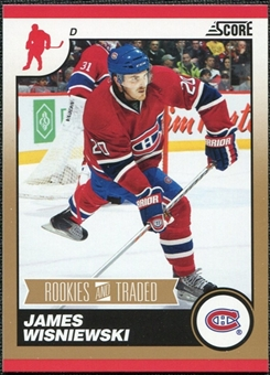 2010/11 Panini Score Gold #592 James Wisniewski