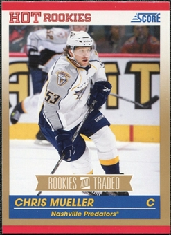 2010/11 Panini Score Gold #635 Chris Mueller